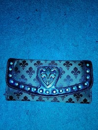 black and brown leather wallet Marrero, 70072