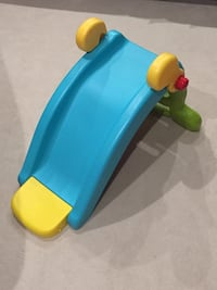 Fisher price 2 in 1 slide and rocker. Great condition..