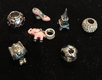 Sterling silver charms, all! Silver Spring, 20904