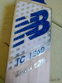 Cricket bat for sale knocked new ready to play Milton