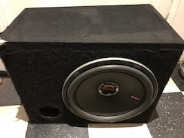"SLP Show 15"" Subwoofer with Box"