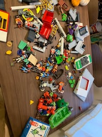 assorted-color plastic toy lot Oakland, 94607