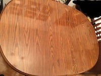 DINING SET TABLE 4 CHAIRS ANTIQUE