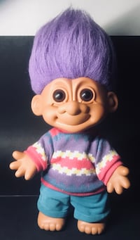 1980's 18 in TROLL DOLL 1815 mi