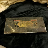 Antique tin box Calgary, T2W 4X6