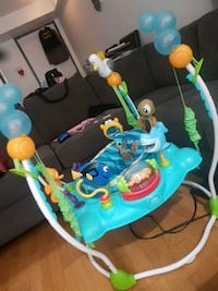 baby's blue and green jumperoo Toronto, M5A