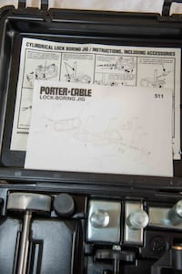 Porter-Cable Model 511 Cylindrical Lock Boring Jig Fairhope