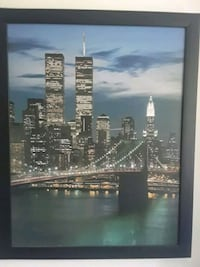 Framed wall picture of The Twin Towers  Ottawa, K1H