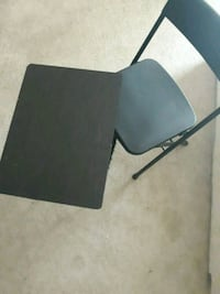 Tv table/tray n chairs set $$15