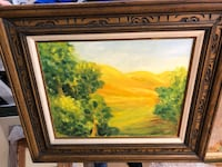 """An Impressionist Oil on Canvas Signed M.Anderson/Negotiable  """"MAKE ME AN OFFER"""" Thanks   Burbank, 91505"""