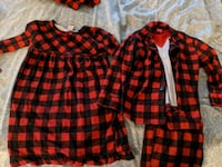 Buffalo plaid family jammies (4 pieces) Surrey, V3S 0T5