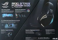 BNIOB ASUS ROG FUSION 500 HEADSET FAST SELL  White Rock