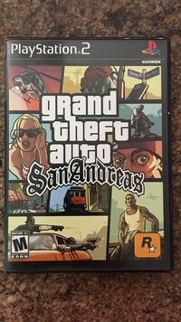 PS2 Grand Theft Auto San Andreas case Glendale