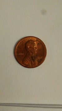1987 Lincoln Cent error. Double die ( 77 ) Reading