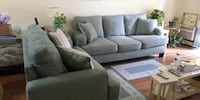 Brand New Couch and Matching Throw Pillows Stratford