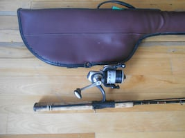 Fishing rod reel case, Mitchell Quantum, super