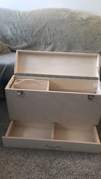 Wooden tool box with nail tray Edmonton, T6G