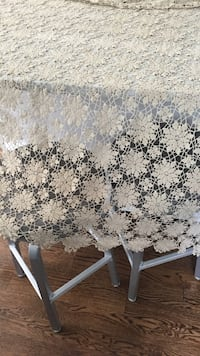 Hand crochet table cloth large Lynnfield, 01940