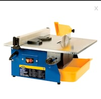 The Portable Tile Saw has a direct-drive 3/5 HP motor Toronto, M3K 1H4