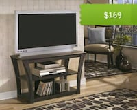 Ellenton Brown TV Stand   Houston