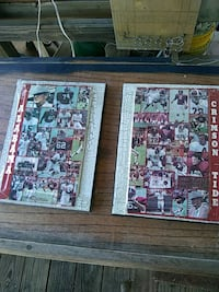 Alabama center fold 79 sport collage art work pics Montevallo