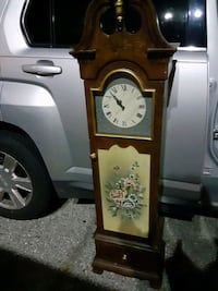 Antique Wooden Clock Cabinet Silver Spring, 20910