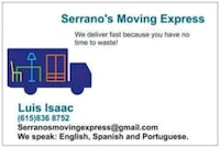 Delivery and moving New Market, 21774