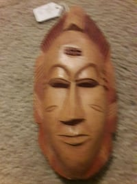 wooden mask  Fort Myers, 33916