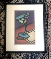 Martini print frame included Nashville, 37209