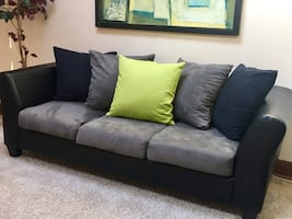 """Microfiber Sofa(Free Delivery) PRICE NOT NEGOTIABLE""""YES ITS AVAILABLE"""