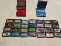 Gameboy advance sp bundle 28 games plus link cable Toronto, M1X 2A7