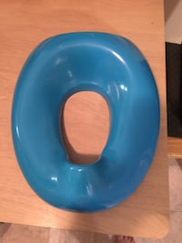 blue potty trainer seat cover