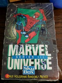 Marvel Universe Series III Skybox Trading Cards Alexandria