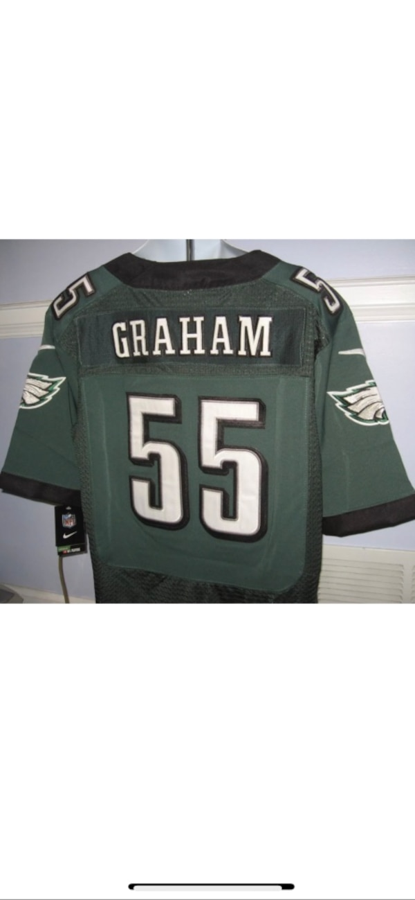 the latest 69fe1 d7ccb Brandon Graham Philadelphia Eagles Super Bowl Jersey