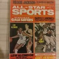 1969 ALL STAR SPORTS Magazine Clarksburg