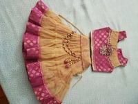 NEW indian choli size 0 to 9 months  Randolph