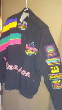 black and multicolored Snap-On jacket Dallas, 28034