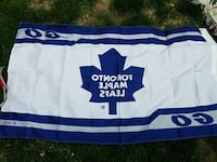 white and blue Toronto Maple Leafs jersey Mississauga, L5L 5T8