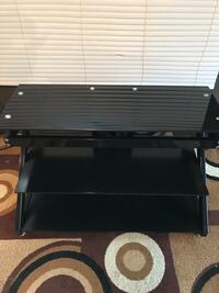 Glass TV stand, can deliver, see more info  Edmonton, T5E 3M6