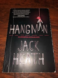 Book -Hangman by Jack Heath.  Mississauga, L5G 2P6