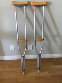 Adjustable Aluminum Crutches Vancouver, V5Y 2W2
