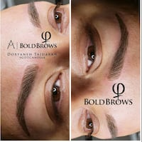 Microblading bold brows artist from phi academy Richmond Hill, L4C 3T1