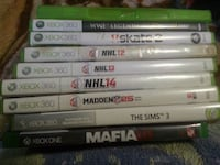 assorted Xbox 360 game cases Winnipeg, R2K