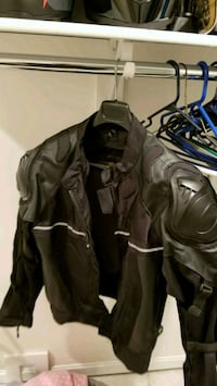 Vikings motorcycle Jacket, w/cold weather liner Alexandria, 22315