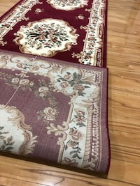 Brand new carpet runner size 3x10 nice red rug runners hallway carpet