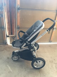 baby's black and gray stroller Mississauga, L5W 1H3