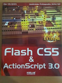 FLASH CS5 & Action Script 3.0 eğitim kitabı Bolu, 14200
