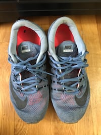 pair of gray Nike running shoes Henrico, 23238