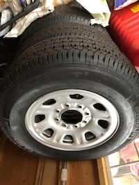 Michelin 265/70/r18 LTX AT 2 tires and wheels Annapolis, 21409