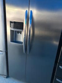 silver side-by-side refrigerator Buena Park, 90621
